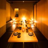 鶏十兵衛一押しの完全個室席です♪接待や会食、接待、会合等のビジネスシーンに最適なお部屋。大切なお客様へのおもてなしにぜひご利用くださいませ。