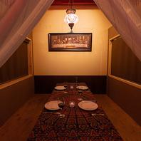 落ち着いた雰囲気の個室♪宴会や接待にも!