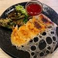料理メニュー写真アボカドチーズ餃子 5個