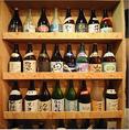 焼酎・日本酒など、プレミアのお酒に出会えるかも♪