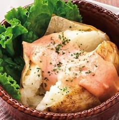 料理メニュー写真ベイクドポテト(明太マヨ)
