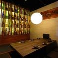 圧巻の日本酒!掘りごたつ個室