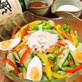 料理メニュー写真厳選 旬の特製サラダ(選べるドレッシング)