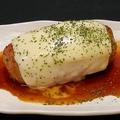 料理メニュー写真BIGチーズつくねinマッシュポテト