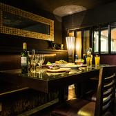 12名様~18名様対応のテーブル個室♪落ち着いた大人の空間で、バリ料理を是非!!