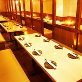人数に応じた宴会個室をご用意させていただきます!広々宴会個室は窮屈感の無い造りとなっておりますので足を伸ばしてご寛ぎいただけます!周りを気にせずまったりとお過ごしくださいませ♪(上野/個室/居酒屋/九州料理/食べ放題/飲み放題/地鶏/海鮮/デート/女子会/接待/誕生日/記念日)