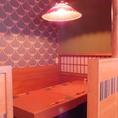 1階はテーブルスタイルと、半個室スタイルの2種類がございます。