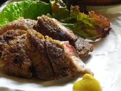 十勝産 豚肉の塩焼き