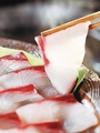 料理メニュー写真天然ブリ&天然鯛シャブシャブ
