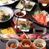 浜松の旬の食材を中心にしたコースで和食宴会を。