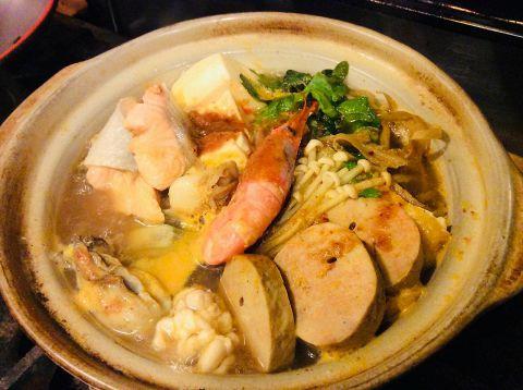 【宴会、飲み会におすすめ☆】伊勢海老や雲丹など贅沢食材の豪華海鮮鍋コース!