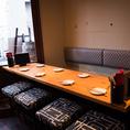 ソファ式テーブル席