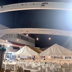 岡山天満屋ビアガーデン2021の雰囲気1
