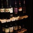 ワインセラーも完備!質良く安いワインをしっかり管理しております