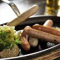 料理メニュー写真5種類のソーセージ 盛り合わせ