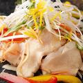 料理メニュー写真地鶏刺し