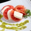 料理メニュー写真創作イタリアンカプレーゼ