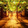 ★☆個室あり☆★店内は和モダン個室とデザイナー監修のふかふかソファー個室空間など様々☆女子会・合コンやデートにも最適なオシャレな空間~新宿エリア最大級の宴会スペースは最大100名様までOK♪