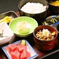 ≪朝定食≫ 納豆定食
