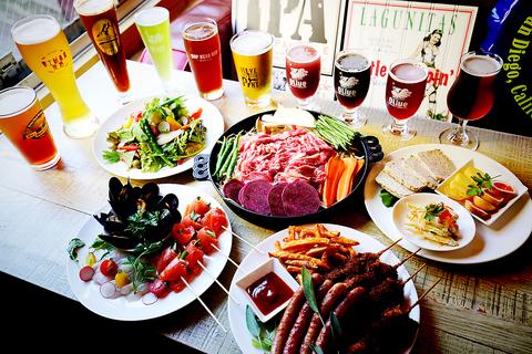 【Beer Trip Olive ビア トリップ オリーブ】 国内外のクラフトビール17種が揃う!!