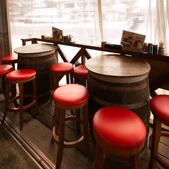 テラス席◆当店は全席喫煙可のため、未成年者のお客様のご来店をご遠慮いただいております。