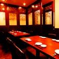 大人気の完全個室。周りのお客様を気にせず楽しめます!会食や接待にもご利用いただいてます。(新橋 居酒屋 飲み放題 食べ放題 貸切)