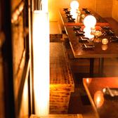 お客様の人数構成・用途にあわせてその日一番適した個室席をご提供致します♪淡い間接照明にの灯りに包まれた個室空間は、都会の喧騒を忘れさせてくれるはずです♪お得な飲み放題付き宴会コースも2480円~多数ご用意!池袋での女子会や合コン・宴会などの様々なシーンにお応えすることが可能となっております◎