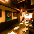 渋谷最大級の水槽空間で会社宴会などに…30名様~最大80名様までご利用可能です。店内の装飾も自由にできます!人数やご予算などお気軽にご相談ください。