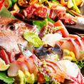 ★ゆずのこだわり3★旬の新鮮鮮魚も豊富★当店はお魚にもこだわり、朝水揚げされた新鮮な鮮魚のみをご提供させて頂いております。こちらには通常の摺りわさびにゆず胡椒を合わせてピリッとした中にも柚子胡椒のほのかな香りがアクセントとなって非常に人気の品となっております。豪快にお得な七種盛り等どうでしょうか。