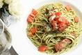パスタ~ 鯖の燻製とフレッシュトマトのジェノバパスタ ~※ 一例