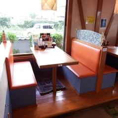 4名様のテーブル席です。※同タイプが4テーブルございます。