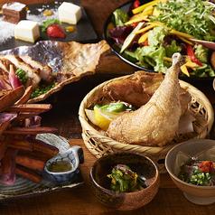 丸鶏料理と濃厚水炊き鍋 鳥肌の特集写真