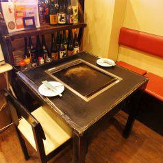 2名テーブルございます!デートやお一人様に!