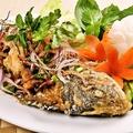 料理メニュー写真プラトーナムトック(鯛のイーサンソース)