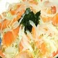 料理メニュー写真サーモンのカルパッチョ(2人前)