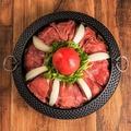 料理メニュー写真トマトすき焼き