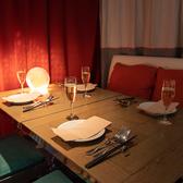 夜景個室4名席  ふかふかのソファー席☆ 宴会、歓送迎会等にピッタリです。