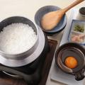 料理メニュー写真コーチン釜炊き卵かけご飯