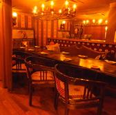 【個室】10名様まで用のカーテン個室!!豪華な特別空間なので、合コンやグループ宴会でのムーディーな雰囲気には酔いしれること間違いなし!!人気のお部屋ですので、早めのご予約がオススメです♪