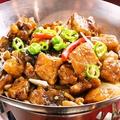 料理メニュー写真スペアリブの干鍋(かんなべ)