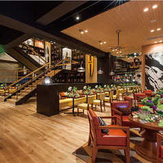 レストラン&バー イン ザ パーク RESTAURANT&BAR in the PARK THE VILLAS 福岡の雰囲気1