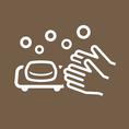 【スタッフの衛生管理も徹底しております】マスク着用、手洗い・うがい・手指消毒の徹底 開店前には検温による体調管理も行っております