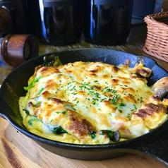 料理メニュー写真ふわふわチーズオムレツ