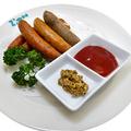 料理メニュー写真ソーセージ五種盛り合わせ
