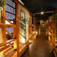 【個室完備】完全総個室寛ぎ和空間