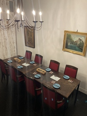 宴会の利用にも!テーブル席は団体利用も可能です