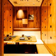 プライベート感溢れる個室が充実!金山でも話題のお席です。各種ご宴会は当店をご利用ください。
