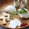 料理メニュー写真自家製チーズ4 種のプレート