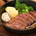 料理メニュー写真熟成牛のステーキ※1gの料金です