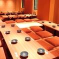 [完全個室]3Fお座敷席は最大45名まで利用OK